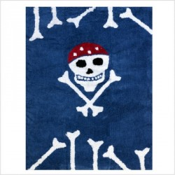 Tapis Pirate bleu