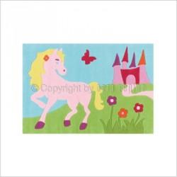 Tapis Princesse-cheval
