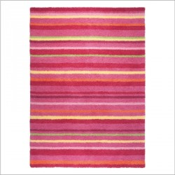 Tapis Funny Stripes rose