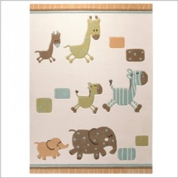 Tapis Lucky Zoo Beige