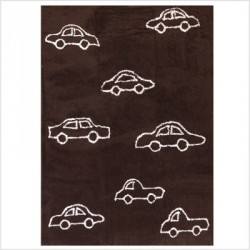 Tapis Voitures Marron