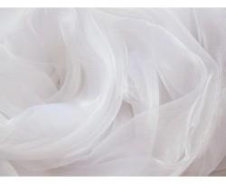 Ciel de lit en organza blanc