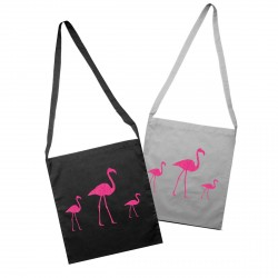 Tote bag flamants roses personnalisable