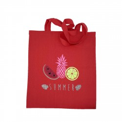 Tote bag 3 fruits d'été