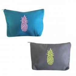 Trousse de beauté ananas personnalisable