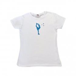 Tee shirt patineuse Billman Turquoise