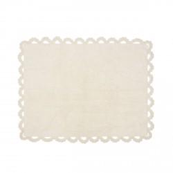 Tapis enfant coton Versailles beige