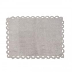 Tapis enfant coton Versailles gris