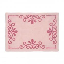 Tapis enfant coton Vienne rose