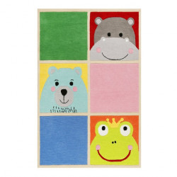 Tapis bébé animaux What's up!? couleurs vives