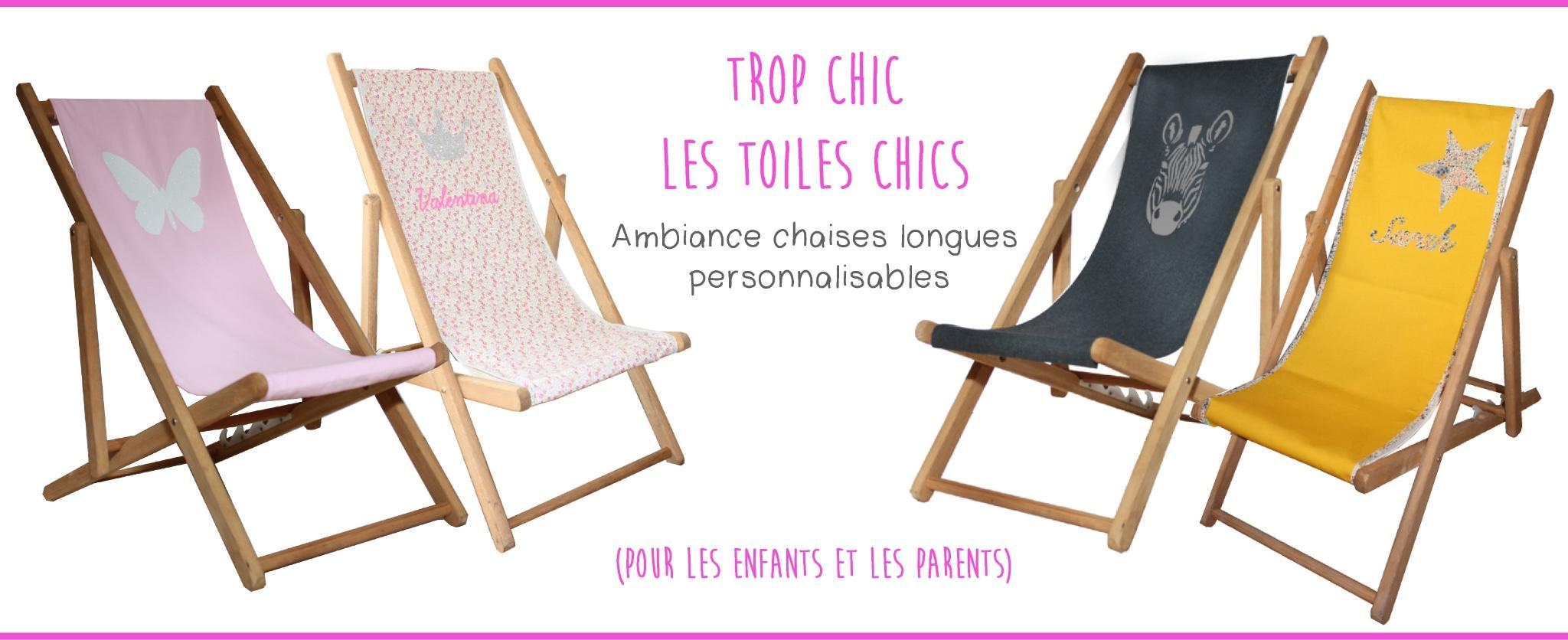 chaises longues personnalisables