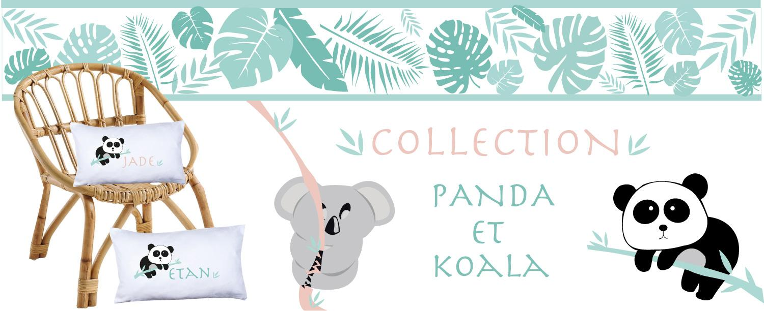 Collection panda koala