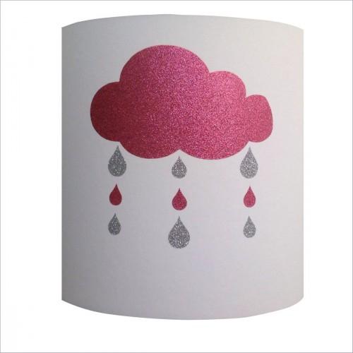 Abat-jour cylindriques nuages