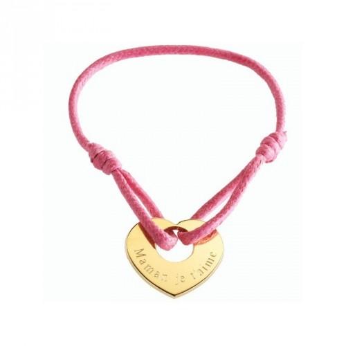 Bracelets cordon personnalisable femme