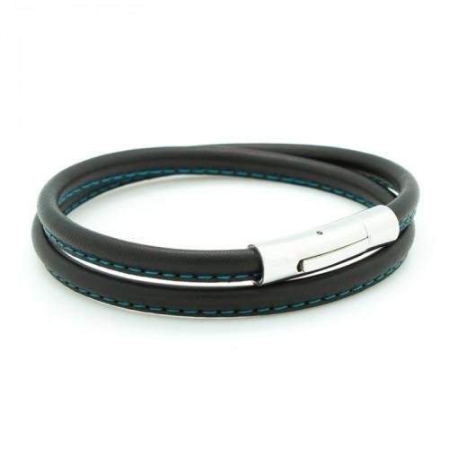 Bracelets hommes cuir