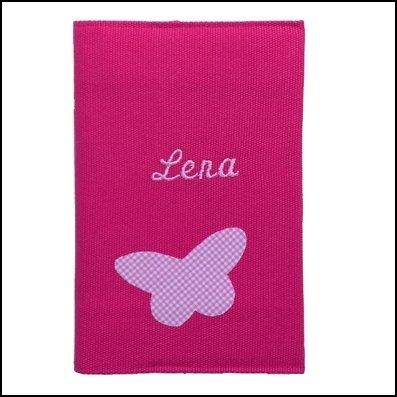 Collection protèges carnet de Santé fleurs et papillons