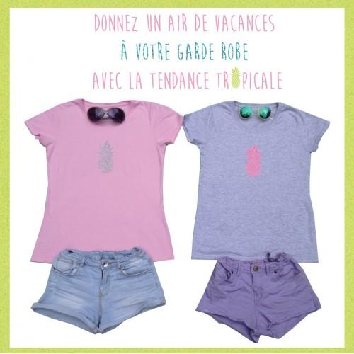 Collection vêtements et accessoires Summer