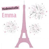 Déco tour Eiffel dans la chambre des enfants