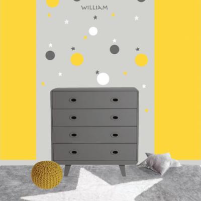 Illuminez la décoration de la chambre avec la couleur jaune