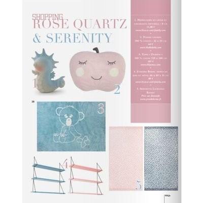 Serenity et Rose Quartz : les couleurs 2016 pour la chambre des enfants