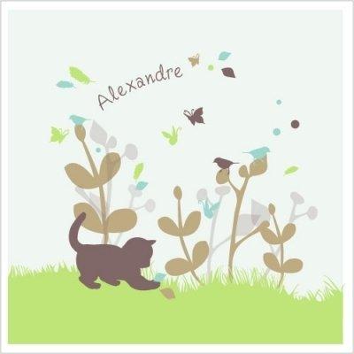 Ambiance deco enfant chaton et chats