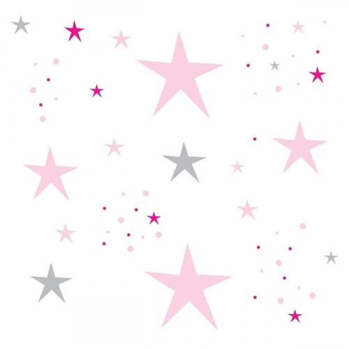 Déco étoiles rose