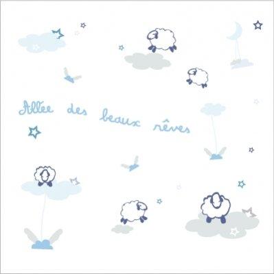 Decoration nuages lili pouce boutique de d coration chambre enfant et b b for Decoration nuage chambre bebe