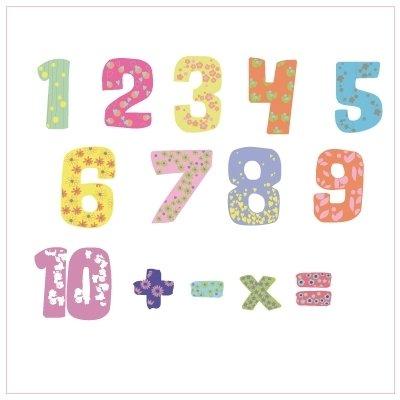Lettres et chiffres adhésifs