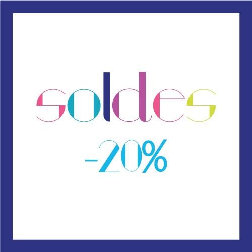 Soldes Été 2016 : -20%