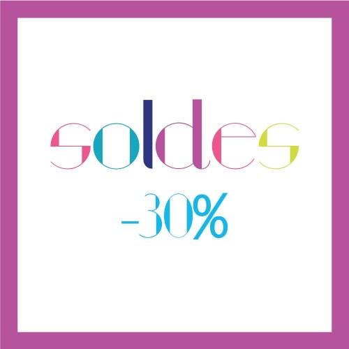 Soldes Été 2016 : -30%