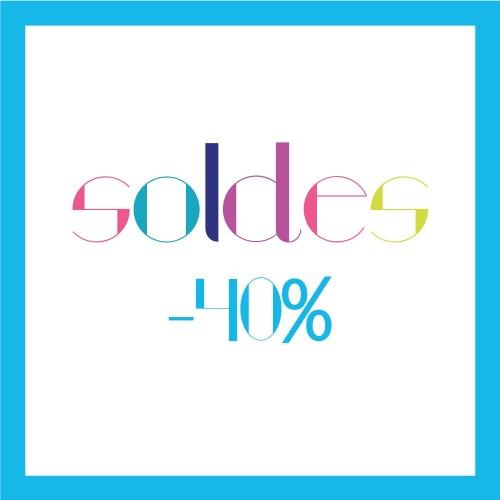 Soldes Été 2016 : -40%