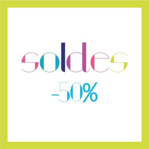 Soldes Été 2016 : -50%