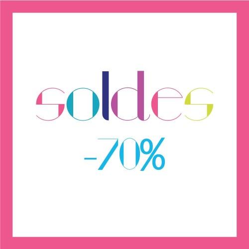 Soldes Été 2016 : -70%