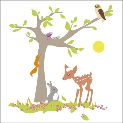 Stickers arbres
