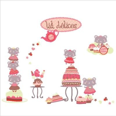 Collection stickers Lili