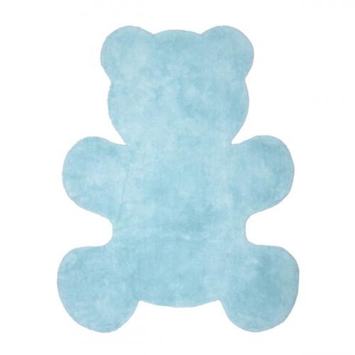 Tapis bleu clair