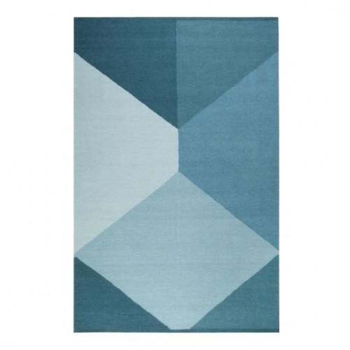 Tapis bleu foncé