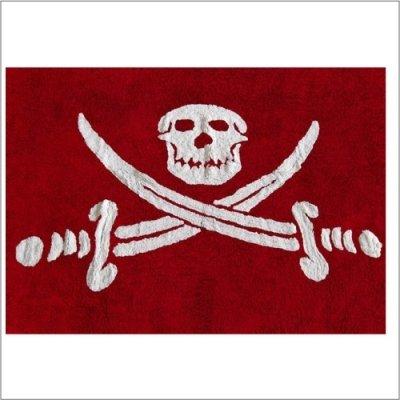 Tapis pirates et chevaliers en coton
